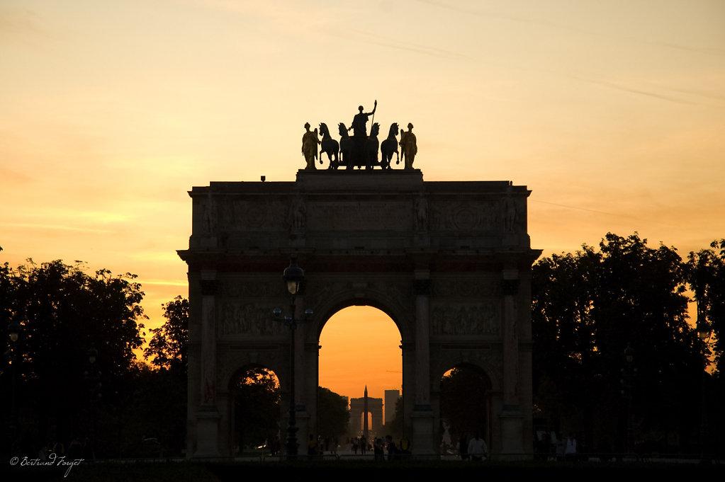 Arc de Triomphe du Carrousel - Paris