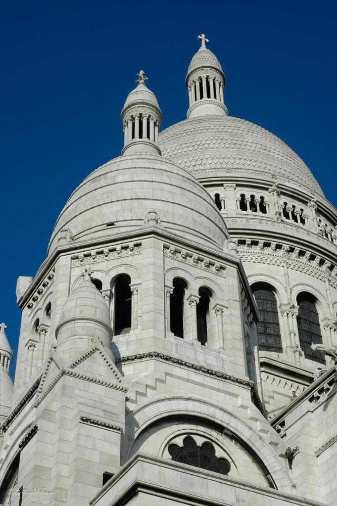 Montmartre - la Basilique du Sacré Coeur