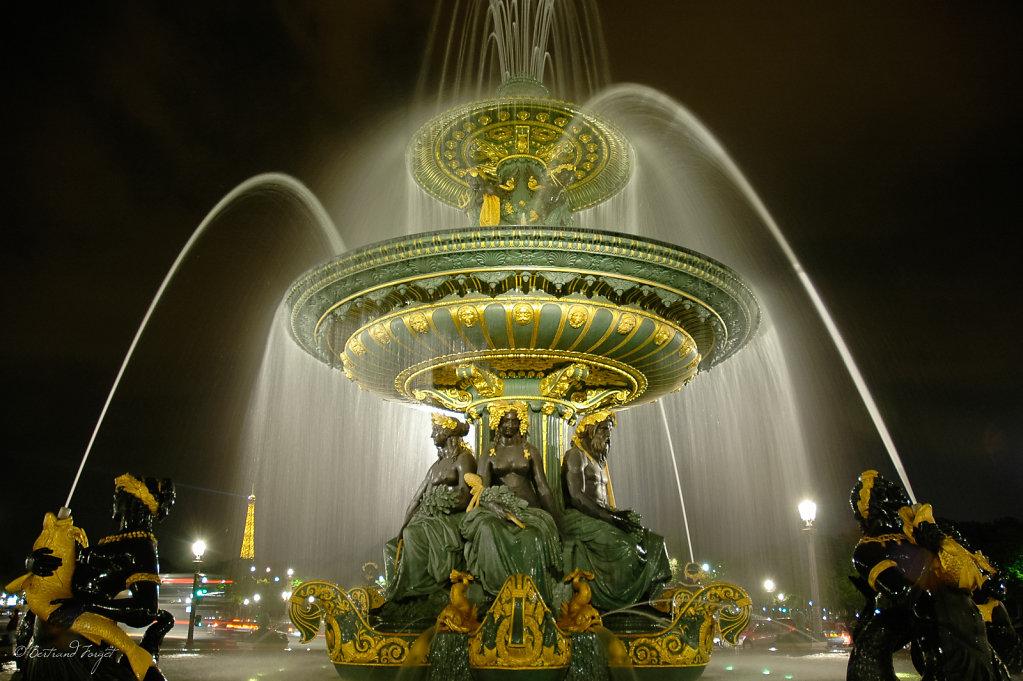 Fontaine de la concorde - Place de la concorde